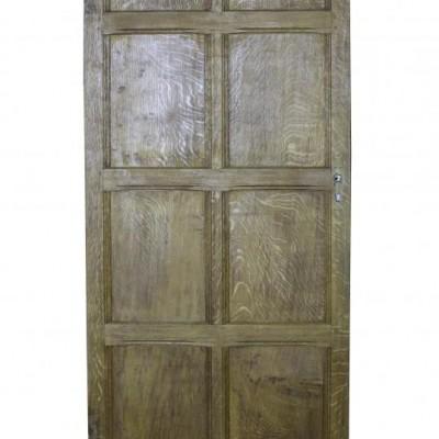 Good Quality Oak Door C. 1900