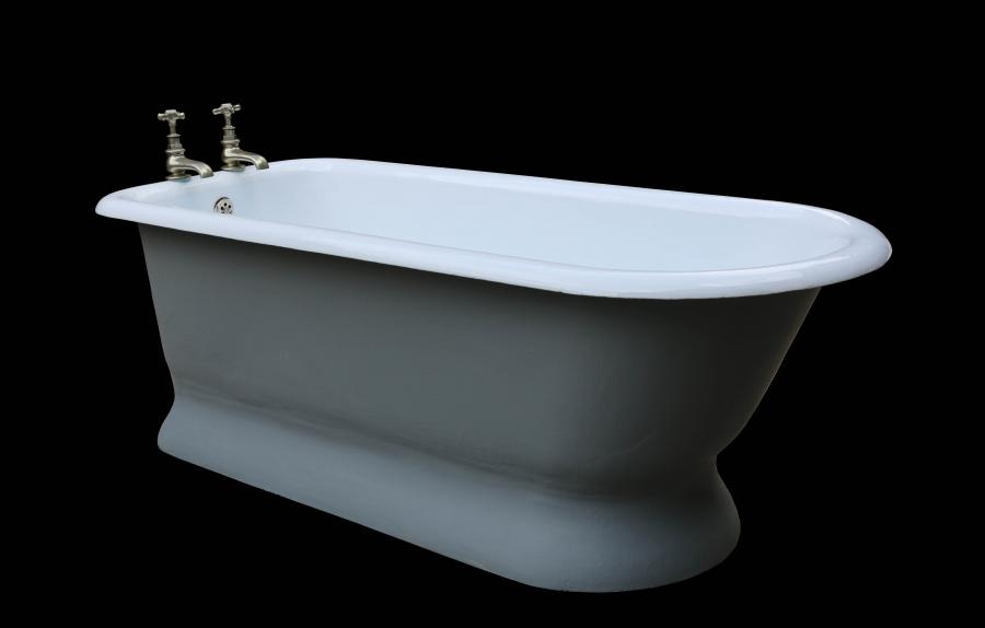 Rare Antique Cast Iron Bath Tub - Restored
