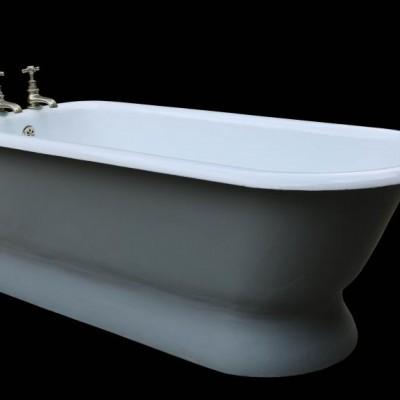 Rare Antique Cast Iron Bath Tub - Restored