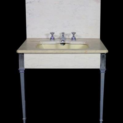 1920s Art Deco Marble Sink / Basin