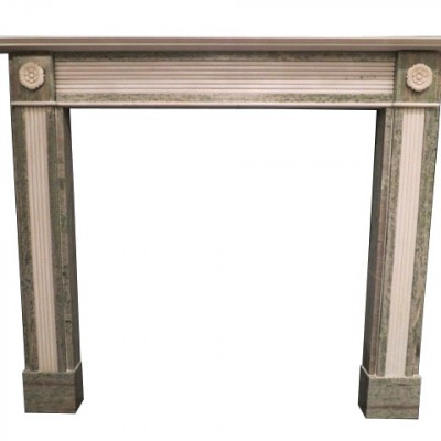 English Regency Style Marble Fire Surround