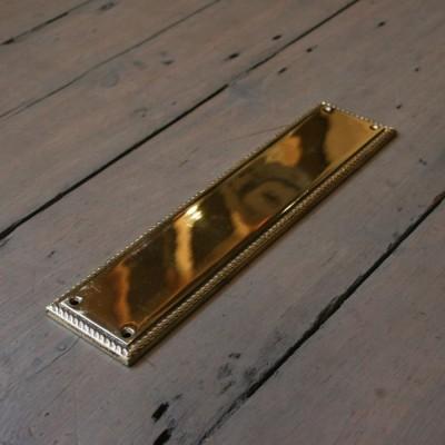 Reclaimed Brass Fingerplates