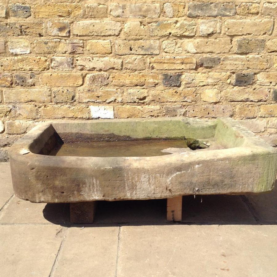 York stone sink