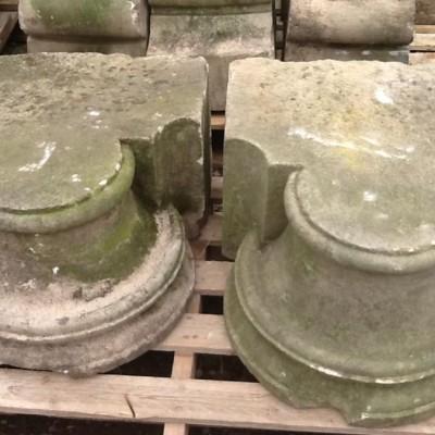 Stone circular foundation stones