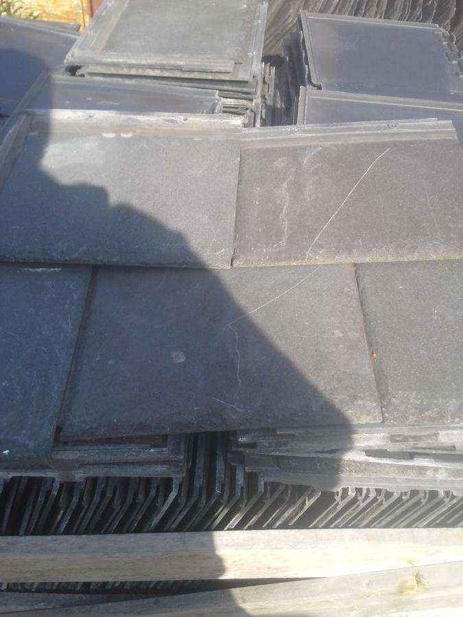 Reclaimed redland cambrian roof tiles