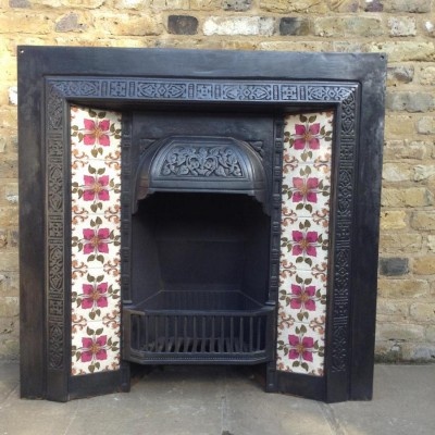 A reclaimed Victorian style insert