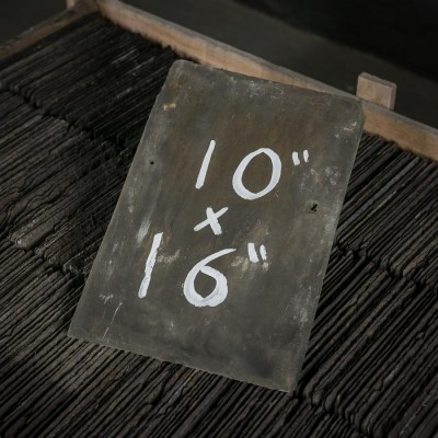 """Reclaimed Roofing Slates Slate Tiles 10"""" x 16"""""""