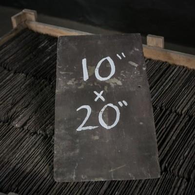 """Reclaimed Roofing Slates Slate Tiles 10"""" x 20"""""""