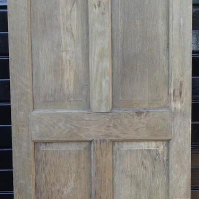 External 6 panel oak door