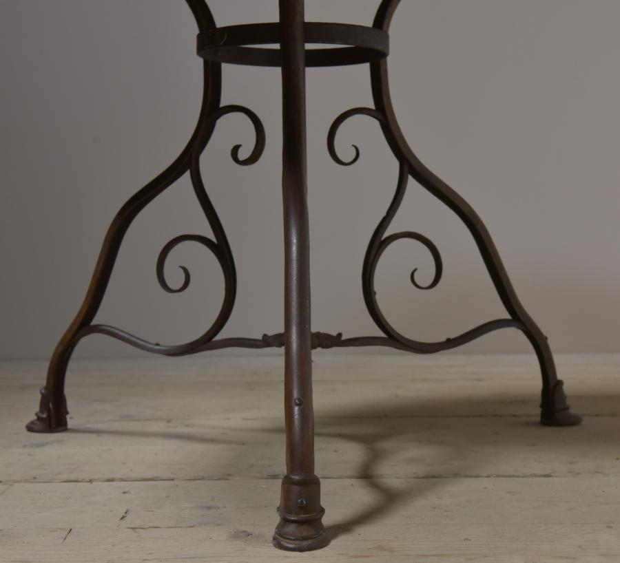 antique arras table - one of three