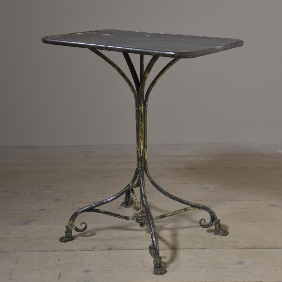 antique arras table - two of three