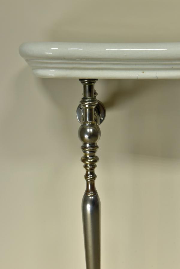 antique bathroom vanity console c1900