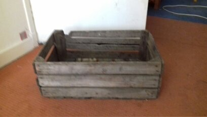 For Sale Old Wooden Crate Salvoweb Uk