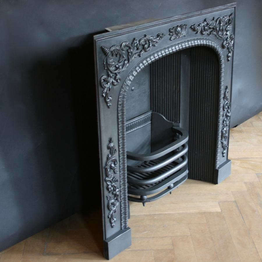 antique georgian fireplace insert salvoweb com