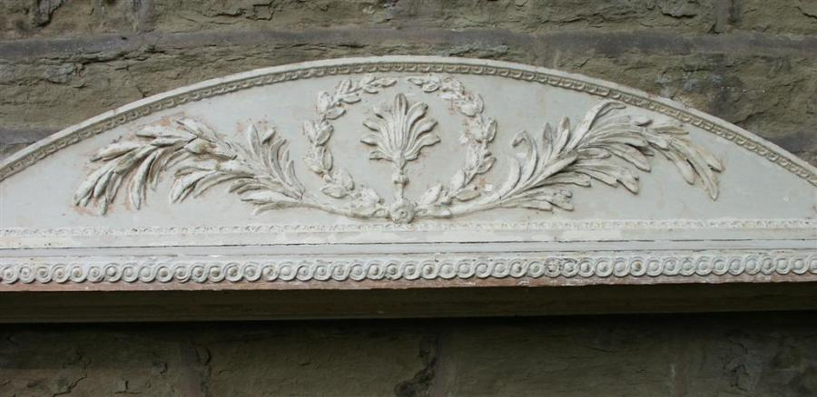 Georgian pine and  Gesso Firesurround 1760 / 1770