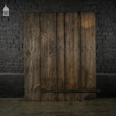 Reclaimed Weathered Ledged Pine Barn Door