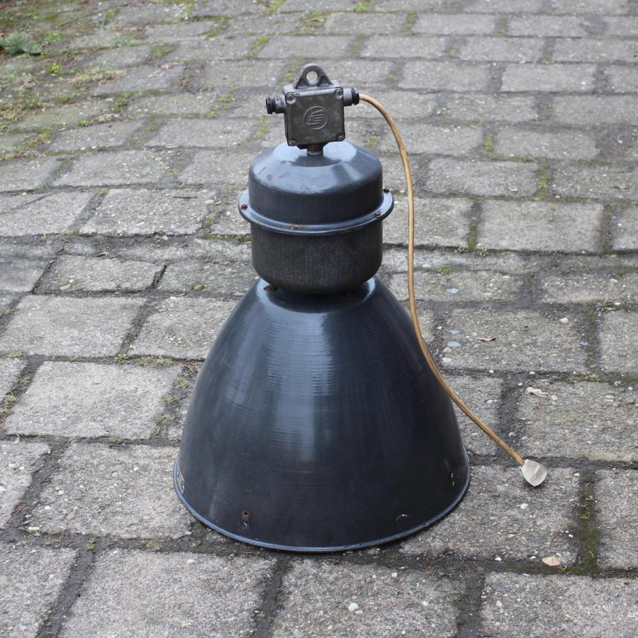 Old industrial large lamps