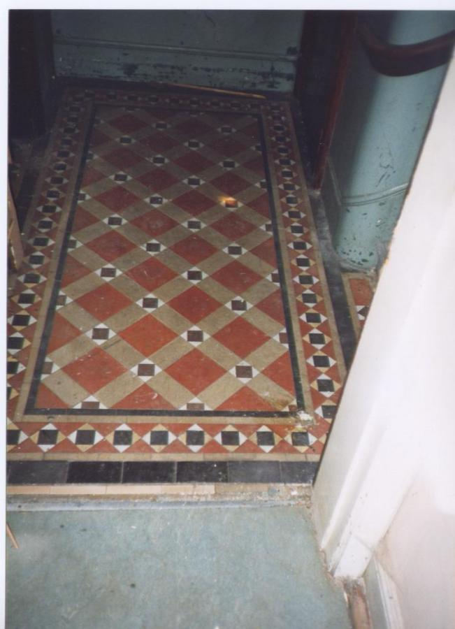 For Sale Victorian Minton Geometric Tile Floor Salvoweb Uk