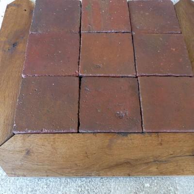 Carreaux anciens  navettes en chene - Reclaimed terracotta & oak