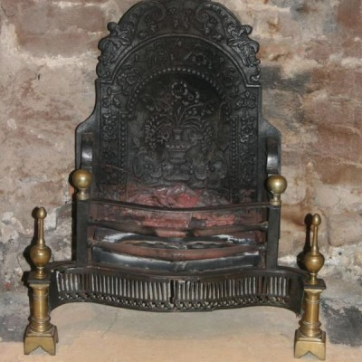 Antique Georgian Fire Basket