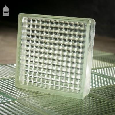 Retro Glass Blocks with Open Backs