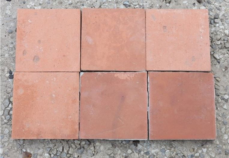 For Sale Large Reclaimed Terracotta Quarry Floor Tiles Salvoweb Uk
