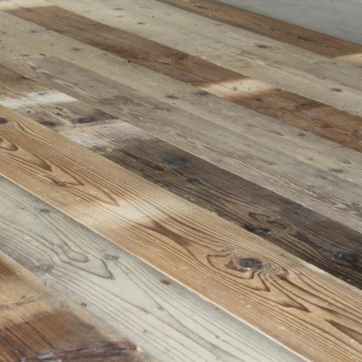 Wide Reclaimed pine Floorboards