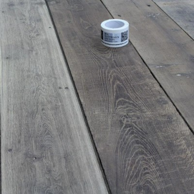 Genuine antique reclaimed French oak floorboards