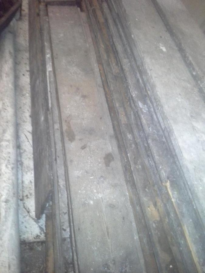 Reclaimed pine floorboards victorian