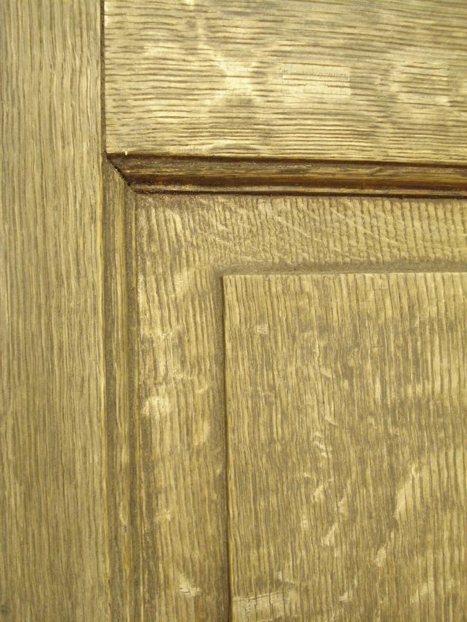 Pair of large Edwardian oak double doors