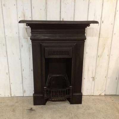 Edwardian Cast Iron Combination Fireplace