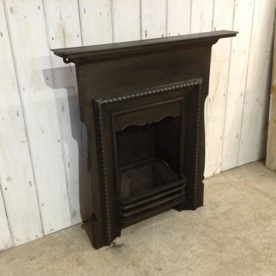Victorian Cast Iron Combination Fireplace