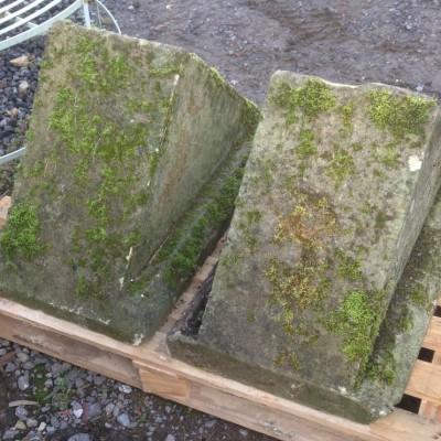 Large Reclaimed Limestone Finials