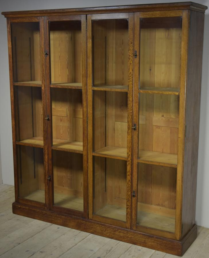 antique museum display cabinet