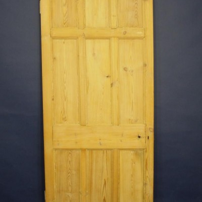 A set of fifteen late 19th century doors