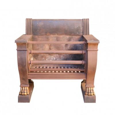 20th Century Sarcophagus Hob Grate