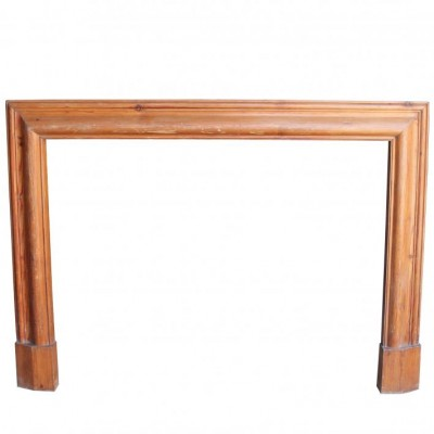 Pine Bolection Style Fire Surround C. 1920