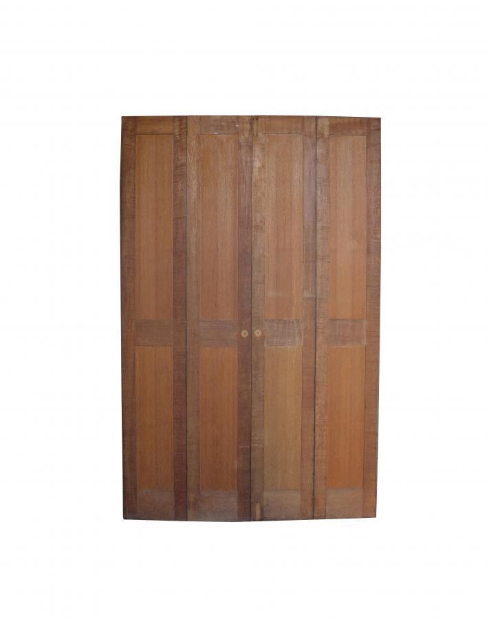 Pair Of 1920s Oak Shutters