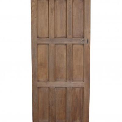 Salvaged Nine Panel Door C.1900