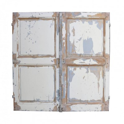 Pair Of 19th Century Pine Cupboard Doors