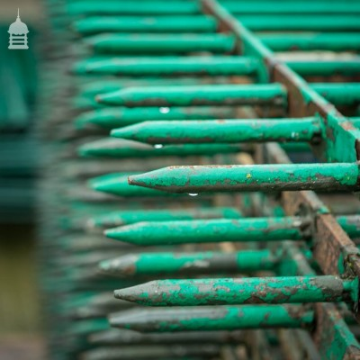 Large Quantity of Reclaimed Railings - Over 160 Metres