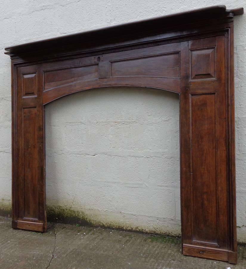 Georgian oak fire surround.