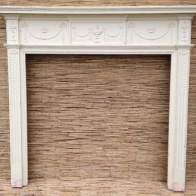 Decorative Wooden Victorian Fire Surround
