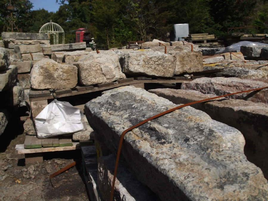 Reclaimed Granite Kerbing