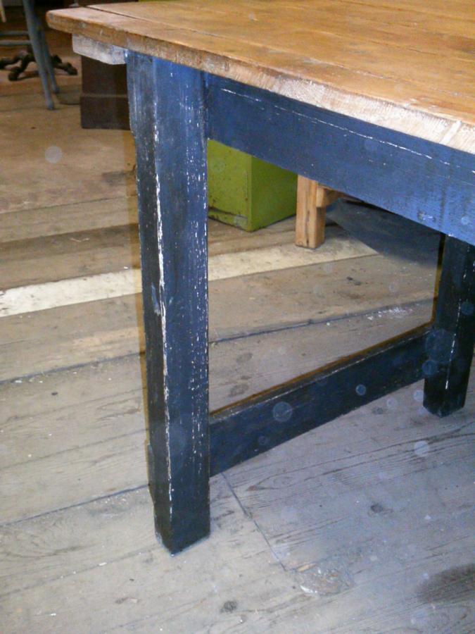 436c1c863e0dc For Sale vintage pine mill type kitchen table- SalvoWEB UK