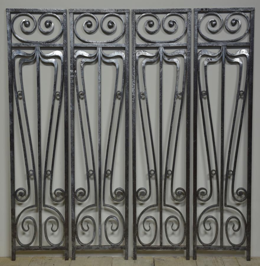 the art of the nouveau...iron panels