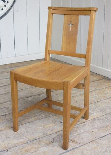 Enjoyable For Sale Vintage Oak Slatted Church Chairs With Cross In The Camellatalisay Diy Chair Ideas Camellatalisaycom