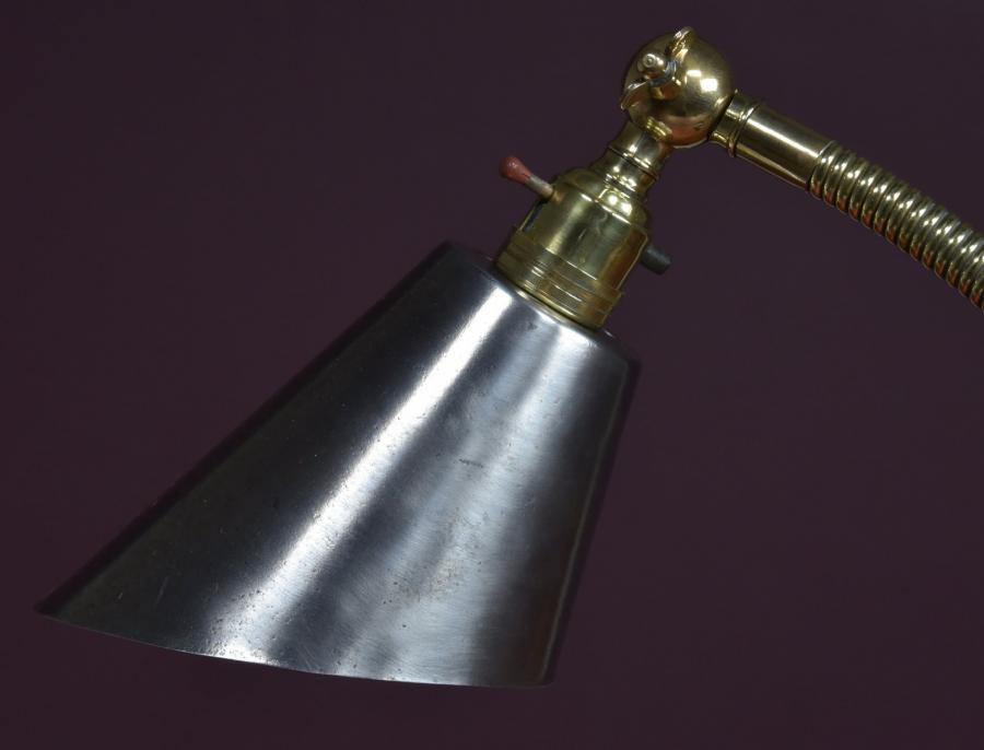 antique Industrial desk work lamp