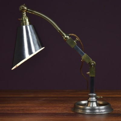 antique Industrial desk work lamp