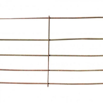 22m Of Early 19th Century Wrought Iron Estate Fencing Hurdles